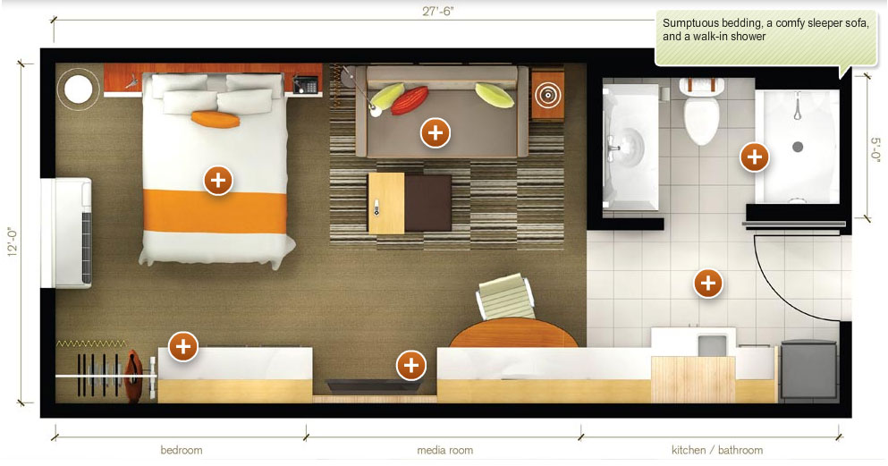 Home2 Suites By Hilton on Small Coffee Shop Floor Plans