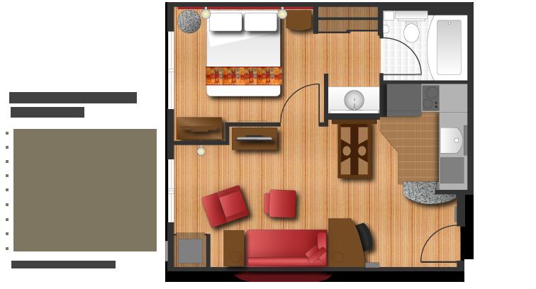 Residence Inn 2 Bedroom Suite Floor Plan