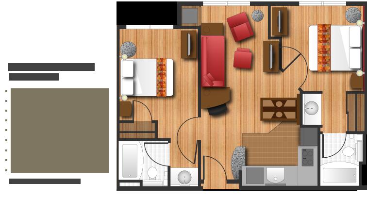 Marriott Two Bedroom Suites
